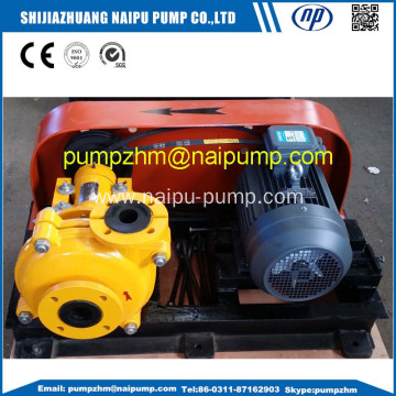 high chrome mining slurry pumps